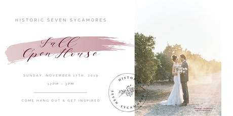 Historic Seven Sycamores - Fall Open House tickets