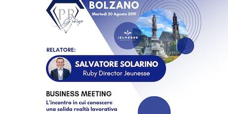 BUSINESS MEETING BOLZANO biglietti