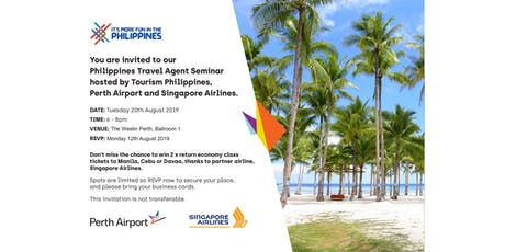PHILIPPINES TRAVEL AGENTS SEMINAR tickets