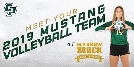 Cal Poly Volleyball Team Meet & Greet