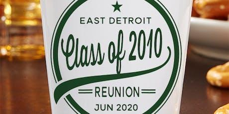 East Detroit Class of 2010 Reunion Celebration tickets