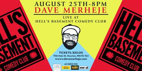 Dave Merheje - Pops up in Hell tickets