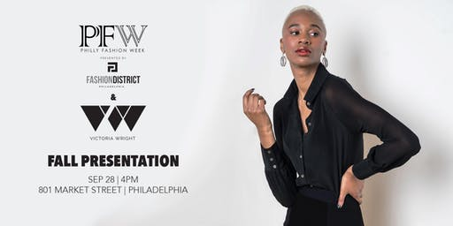 Victoria Wright FW19 Fashion Show and Pop-Up Shop