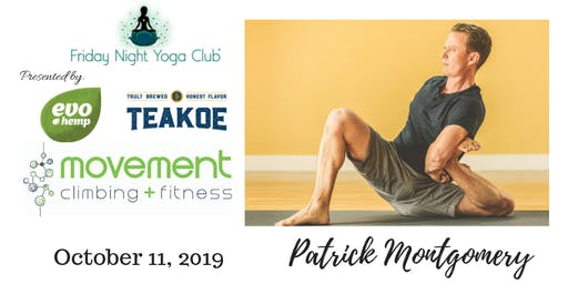 FNYC 10/11 at Movement Climbing and Fitness RiNo!  Patrick Montgomery is Teaching!