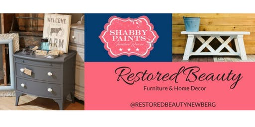 Chalk Paint Class with Restored Beauty