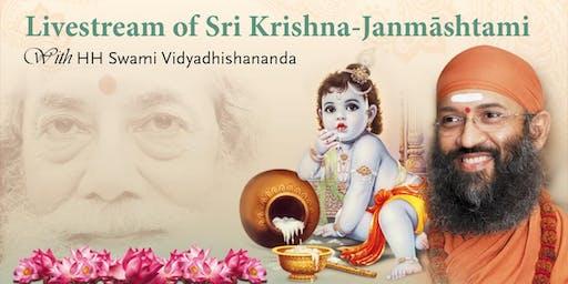 Sri Krishna Janmāshtami Livestream