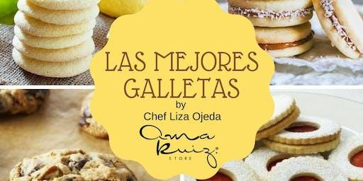 Las Mejores Galletas con la Chef Liza Ojeda en Anna Ruíz Store