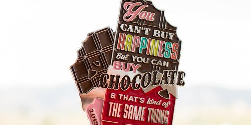 2019 World Chocolate Day 1 Mile, 5K, 10K, 13.1, 26.2 -Raleigh