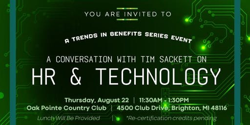 A Conversation with Tim Sackett on HR & Technology