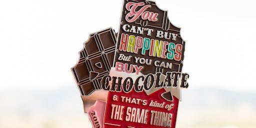 2019 World Chocolate Day 1 Mile, 5K, 10K, 13.1, 26.2 -Chattanooga
