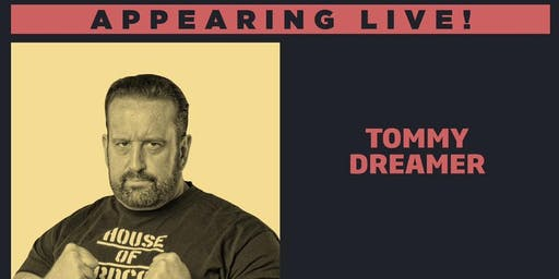 Meet Tommy Dreamer LIVE at Wrestlecade Presented by New World Collectibles!