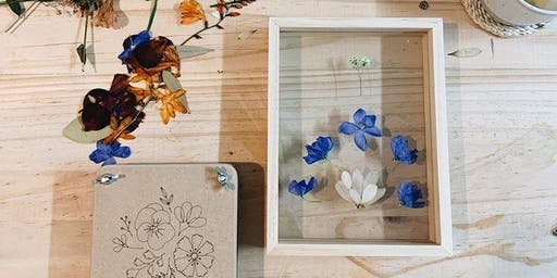 Pressed Flowers Workshop with Nat Daniel Art  Sunday 25.08.19