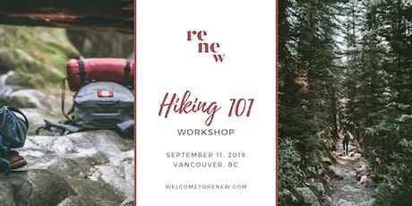 Hiking 101 Workshop tickets