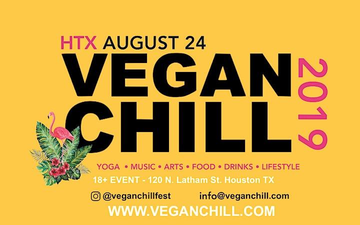 VEGANCHILL Fest- Houston image