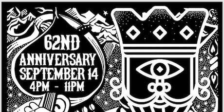 Manhattan Bar 62nd Anniversary! tickets
