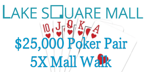 Poker Pair 5X Mall Walk