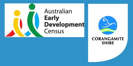 Corangamite Shire Family & Children's Services AEDC  Forum  tickets