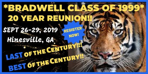 Bradwell Class of 1999 - 20 Year Reunion!