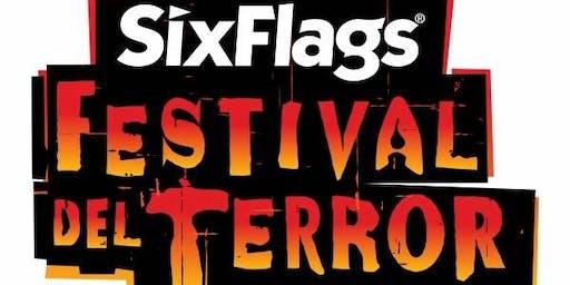 EXCURSION : Festival del Terror  sixflags 2019