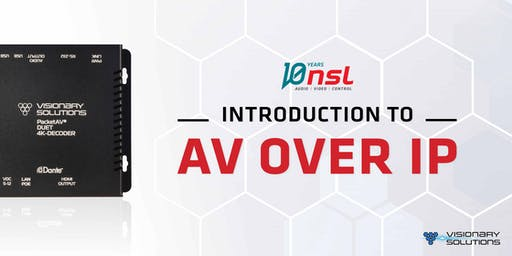Introduction to AV over IP | Wellington