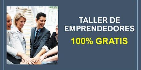 Taller de Emprendedores (Virtual) tickets