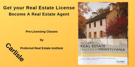 Pre-Licensing September- Fundamentals of Real Estate tickets