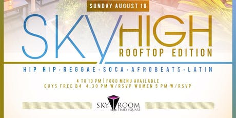 Sky High Rooftop Day Party tickets