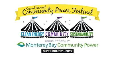 2nd Annual Community Power Festival Sponsorship Opportunities