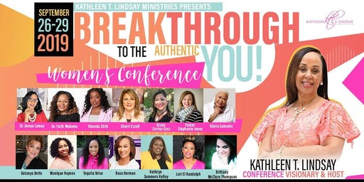 Women's Conference 2019 - Breakthrough to the Authentic You