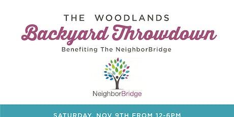 The Woodlands Backyard Throwdown tickets