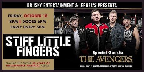 Stiff Little Fingers tickets