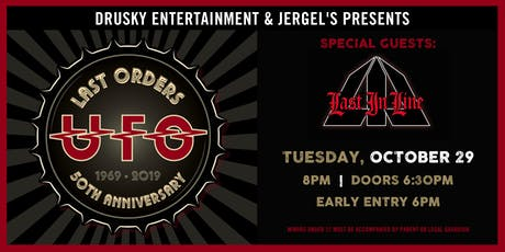 UFO - Last Orders 50th Anniversary Tour tickets
