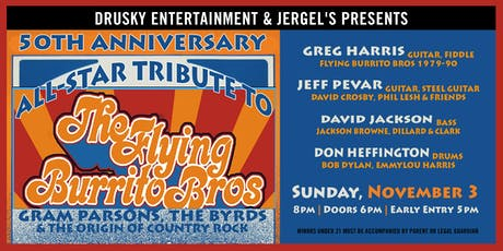 Flying Burrito Brothers - 50th Anniversary tickets