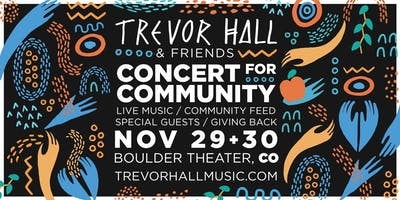 Trevor Hall at Boulder Theater (November 29, 2019)