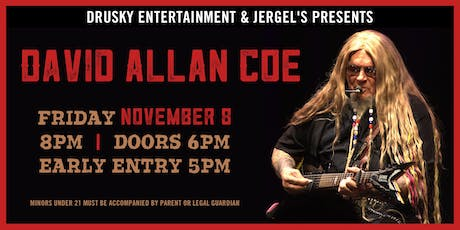 David Allan Coe tickets