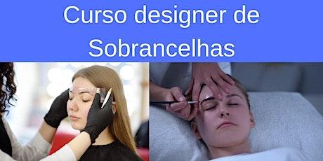 Curso de designer de sobrancelhas RJ Rio de Janeiro ingressos