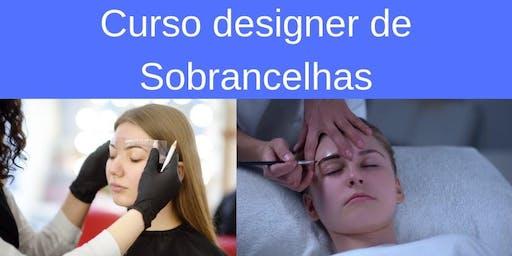 Curso de designer de sobrancelhas RJ Rio de Janeiro