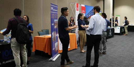 ASCE, AAEES and Chi Epsilon at UCI 2019 Annual Fall CEE Career Fair