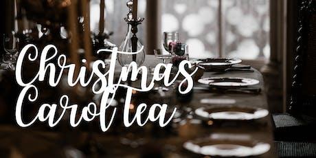 Christmas Carol Tea!  tickets