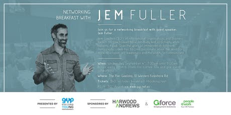 GYP Networking Breakfast with Jem Fuller tickets