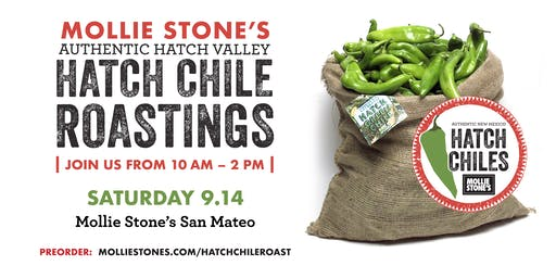 Annual Hatch Chile Roast at Mollie Stone's Markets San Mateo