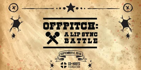 OFFPITCH: A Lip Sync Battle Benefiting the CO+HOOTS Foundation tickets