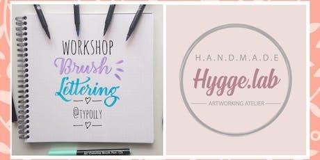 Workshop de Brush Lettering @Typolly - Hygge.lab ingressos