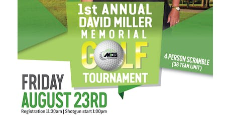1st Annual David Miller Memorial Golf Tournament tickets