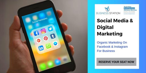 Organic Marketing On Facebook & Instagram For Business(Mundaring) Part 1 by Grace Horneman