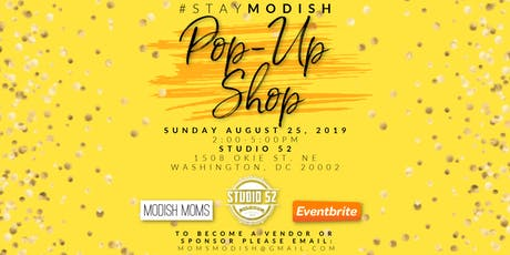 #StayModish Pop-Up Shop tickets