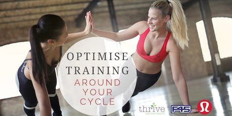 Optimise Training Around Your Cycle tickets