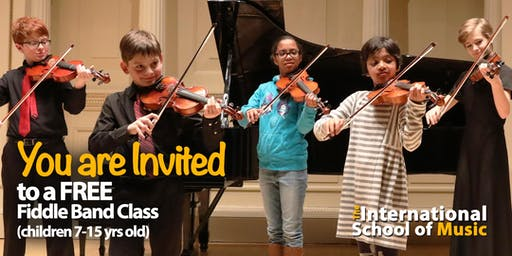 FREE TRIAL Sunday, 9/8! Fiddle Club Class!