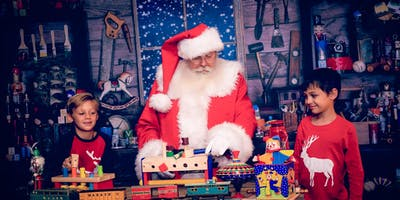 Santa's Workshop (With Santa)