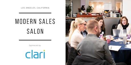 """Modern Sales Pro Salon - Los Angeles #6 - """"Delivering Predictable Revenue"""" Night  tickets"""